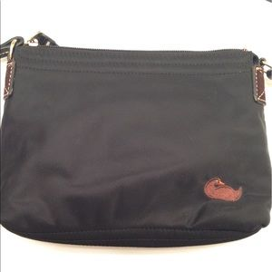Dooney and Bourke Black nylon Crossbody bag
